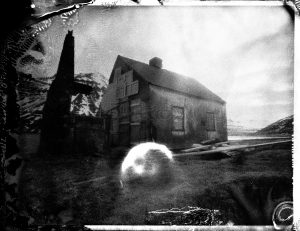 abandoned farm in northern Iceland fine art polaroid photography kuggur.com