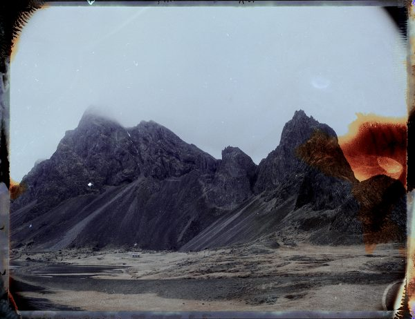 Mount Eystrahorn in Iceland - amazing landscape - landscape photography - fine art polaroid photography by Guðmundur Óli Pálmason - kuggur.com