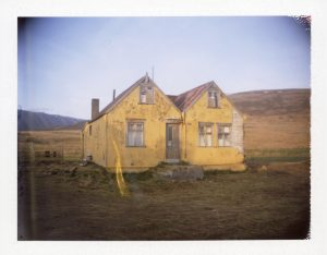 an abandoned farm in northern iceland - fine art polaroid photography by Guðmundur Óli Pálmason Kuggur.com