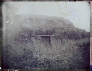 abandoned traditional turf house farm in Iceland Fine art Polaroid photography by Guðmundur Óli Pálmason kuggur.com