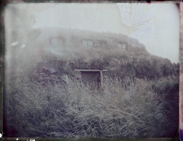 abandoned traditional turf house farm in Iceland Fine art Polaroid photography by Guðmundur Óli Pálmason kuggur.com