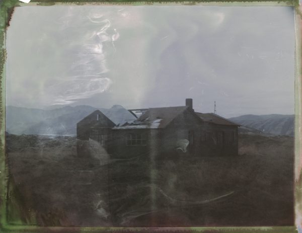 an abandoned farm in Iceland Fine art Polaroid photography by Guðmundur Óli Pálmason kuggur.com