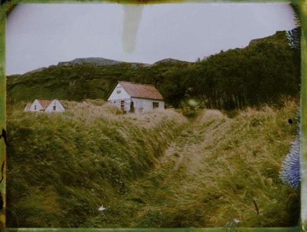 Abandoned farm in Iceland - Fine art Polaroid photography by Guðmundur Óli Pálmason kuggur.com