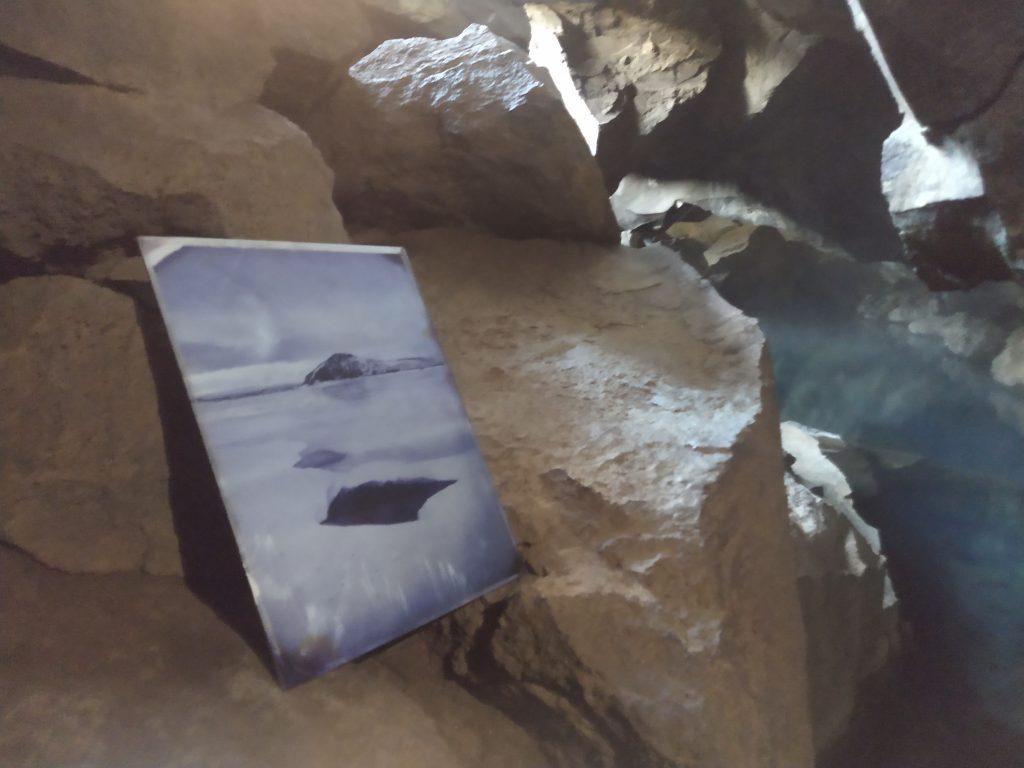 Leaving art - Art prints left all over Iceland. Finders keepers.  Fine art polaroid photography by Guðmundur Óli Pálmason - Kuggur.com
